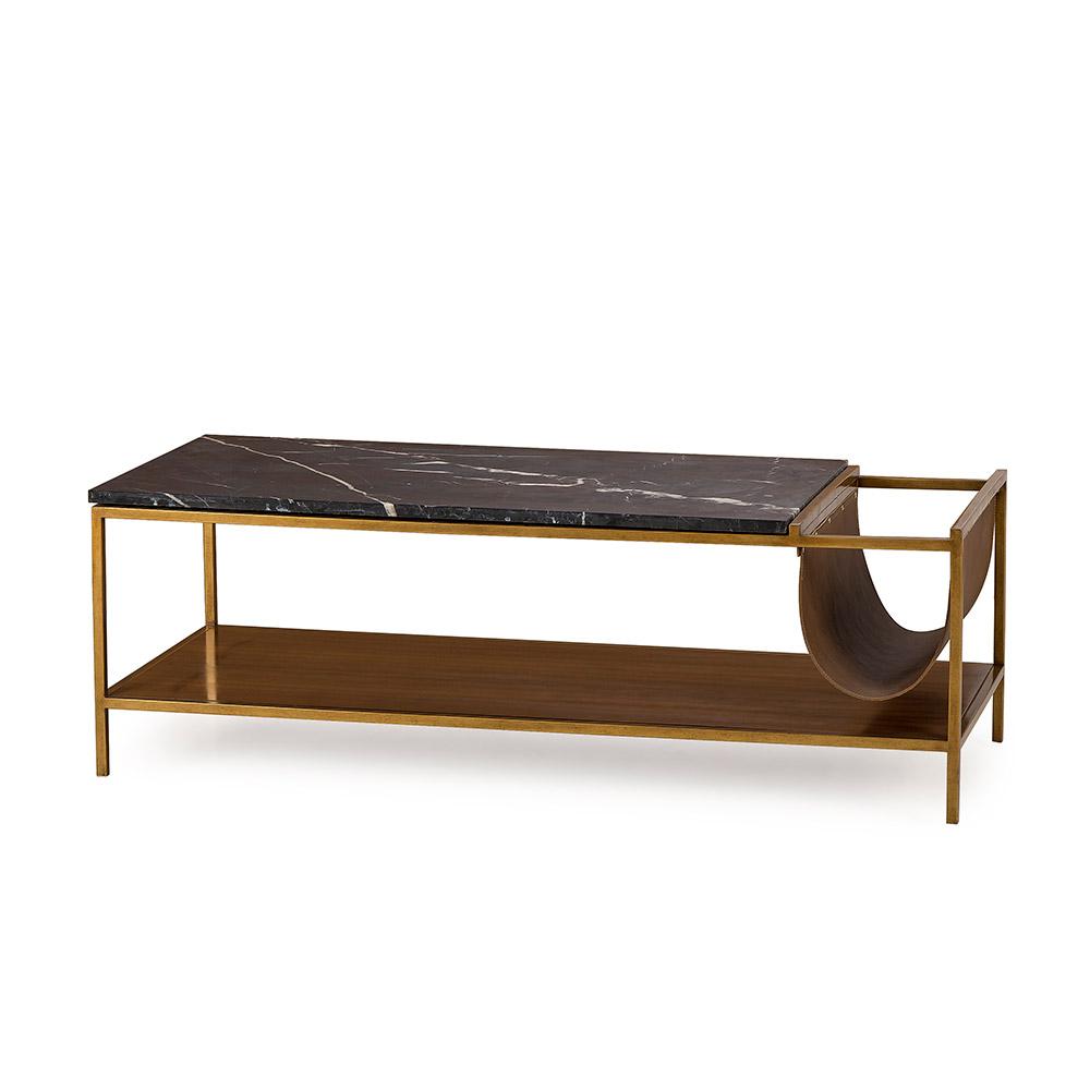 Copeland Coffee Table With Magazine Rack