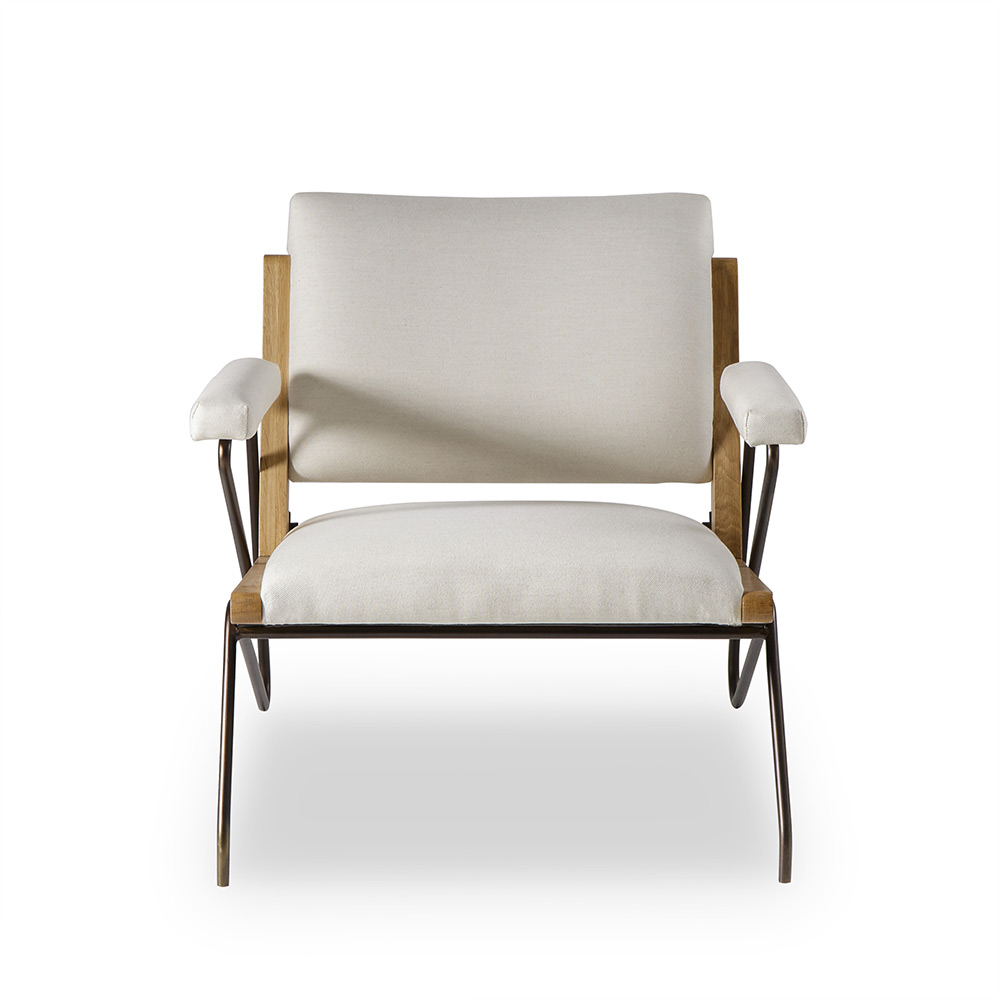 Fabulous Marianne Lounge Chair Off White Pabps2019 Chair Design Images Pabps2019Com