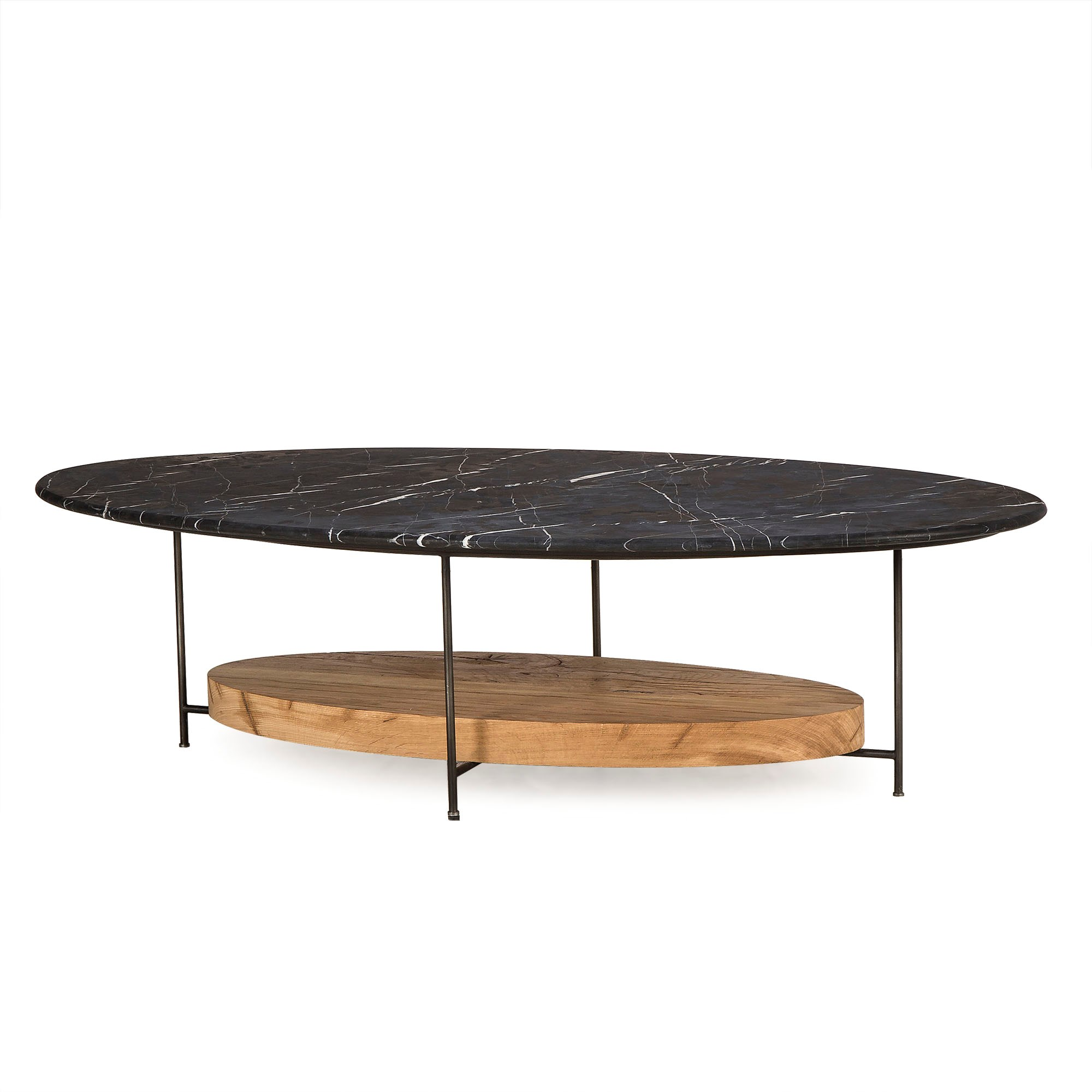 Olivia Coffee Table Black Marble Top