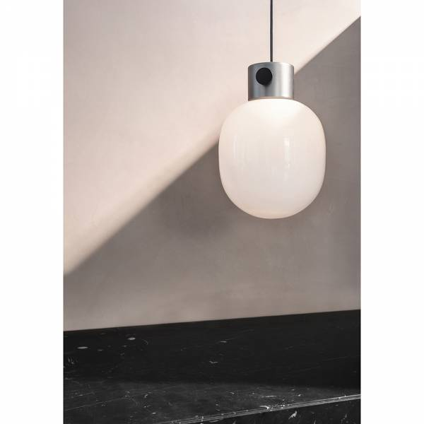 JWDA Pendant - Brushed Steel