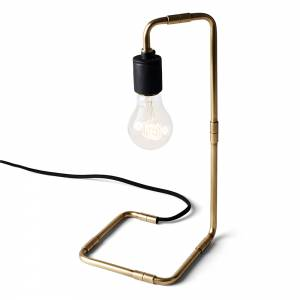 Tribeca Reade Lamp - Brass