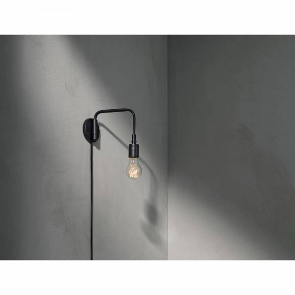 Tribeca Staple Wall Lamp - Black