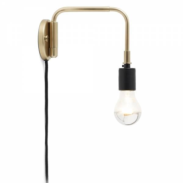 Tribeca Staple Wall Lamp - Brass