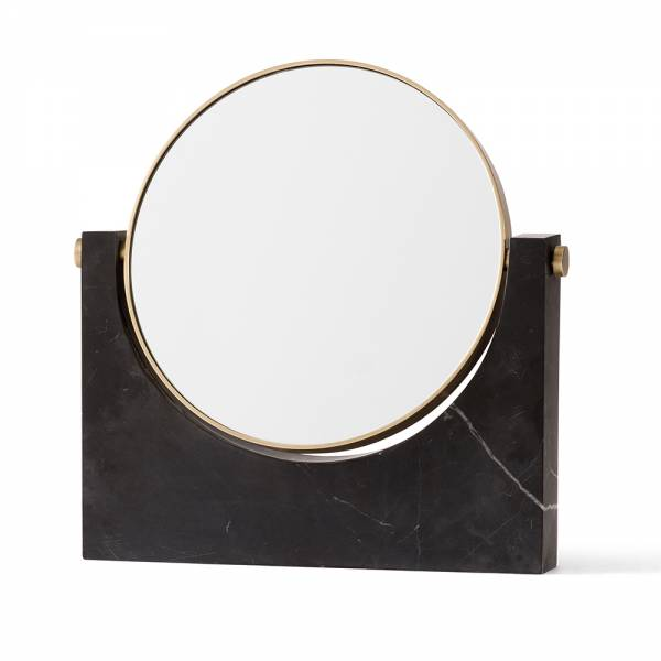 Pepe Marble Mirror - Black