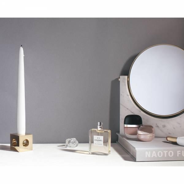 Pepe Marble Mirror - White