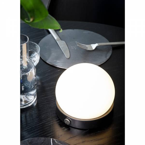 Carrie Portable LED Lamp - Black, Set of 2