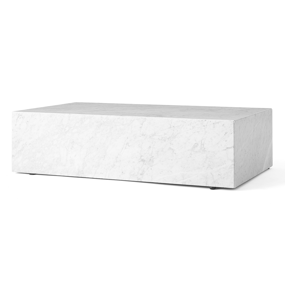 Plinth Low Marble Table