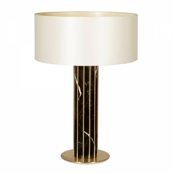Seagram Marble Lamp - Black
