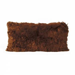 Alpaca Pillow - Copper