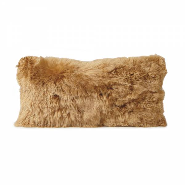 Alpaca Pillow - Gold