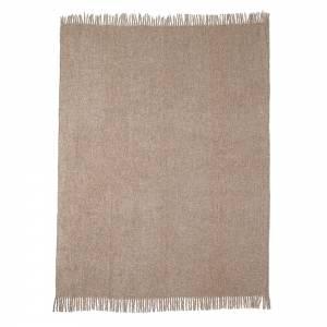 Boucle Alpaca Throw - Papyrus