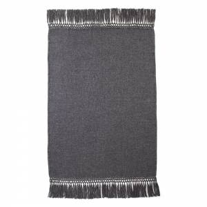 Cool Alpaca Throw - Charcoal