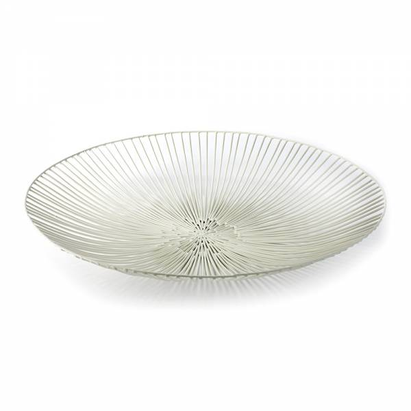 Edo Flat Serving Platter - White