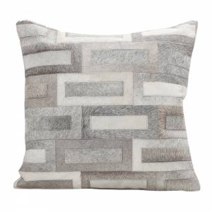 Flagstone Cowhide Pillow - Square