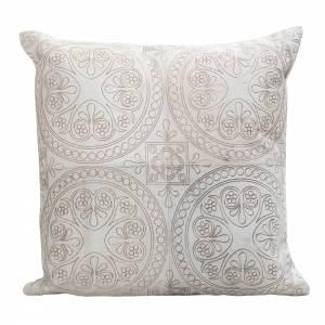 Luna Cowhide Pillow - Square