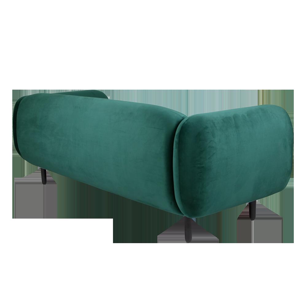 Mora Velvet Sofa   Emerald