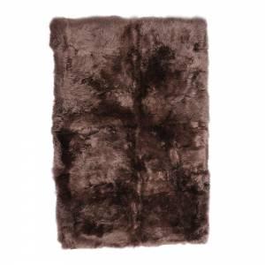 Shearling Longwool Rug - Taupe