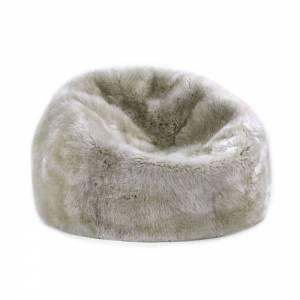 Sheepskin Beanbag - Linen