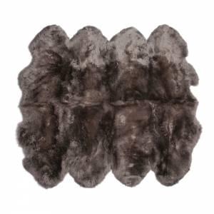 Sheepskin Octo Pelted Rug - Vole