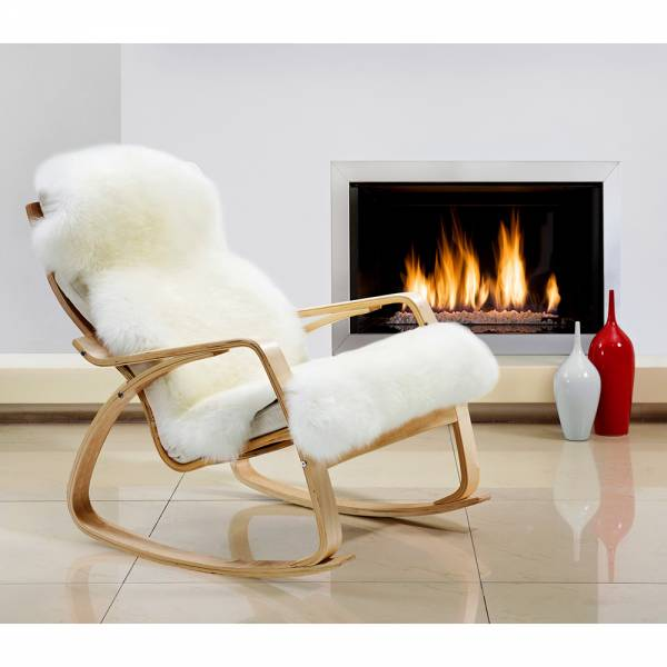Sheepskin Double Pelted Rug - Ivory