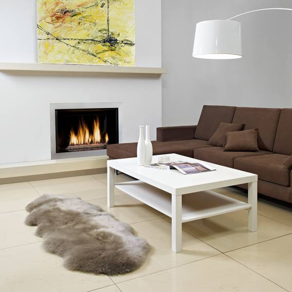 Sheepskin Double Pelted Rug - Vole