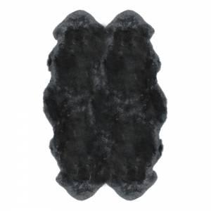 Sheepskin Quarto Pelted Rug - Steel