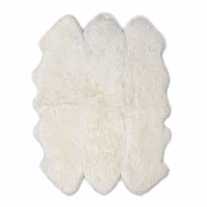 Sheepskin Sexto Pelted Rug - Ivory