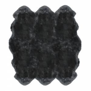 Sheepskin Sexto Pelted Rug - Steel