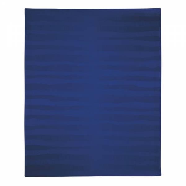 Strata Alpaca Throw - Blue