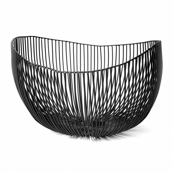 Tale Deep Serving Bowl - Black