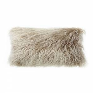 Tibetan Lamb Rectangle Pillow - Shell