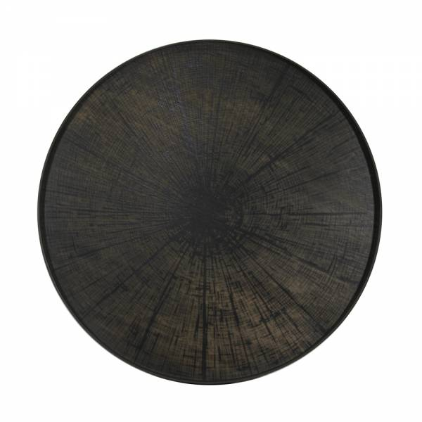 Black Slice Driftwood Tray