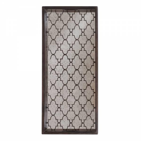Bronze Gate Mirror Tray