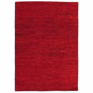 Chobi Rug - Deep Red
