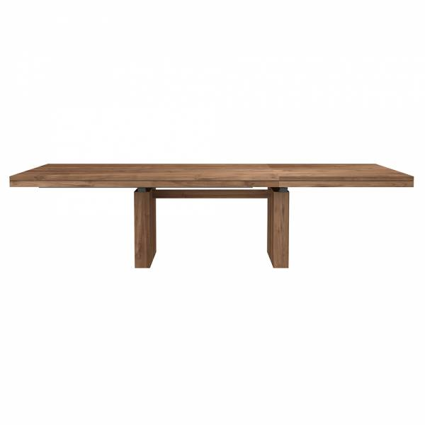Double Extendable Dining Table - Teak | Rouse Home