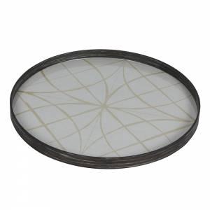 Geometry Glass Tray
