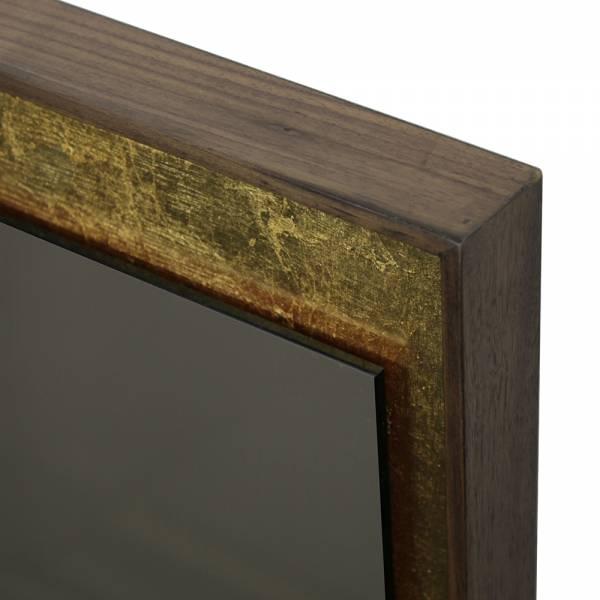 Gold Leaf Bronze Wall Mirror