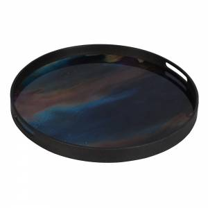 Indigo Organic Glass Tray