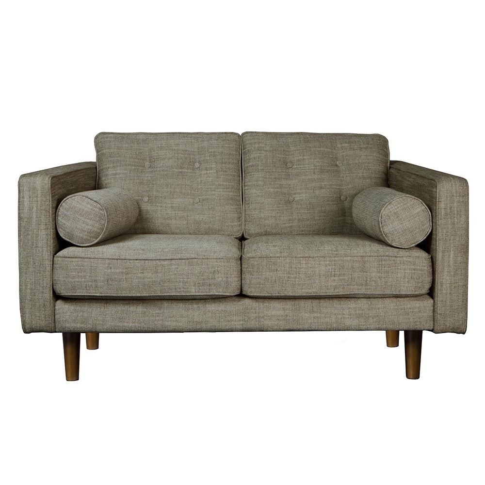 N101 Sofa 2 Seater   Olive Green