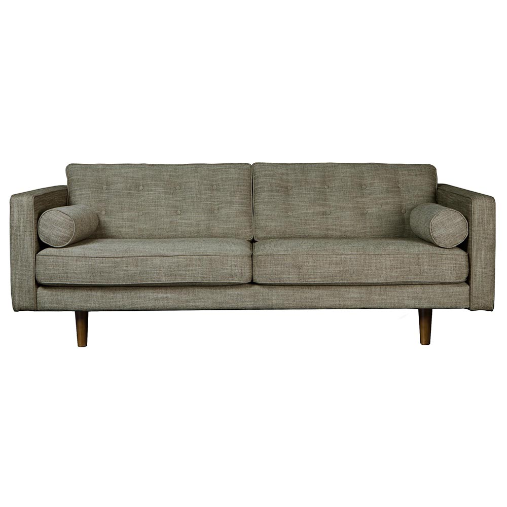 N101 3 Seater Sofa – Olive Green – Rouse Home