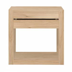 Oak Azur bedside table - 1 drawer