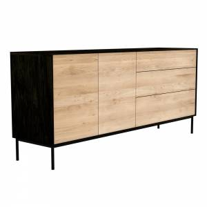 Oak Blackbird sideboard - 2 doors - 3 drawers