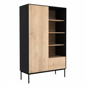 Oak Blackbird storage cupboard - 1 door - 1 drawer