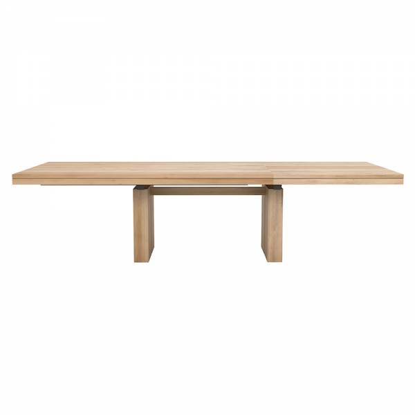 Double Extendable Dining Table - Oak | Rouse Home