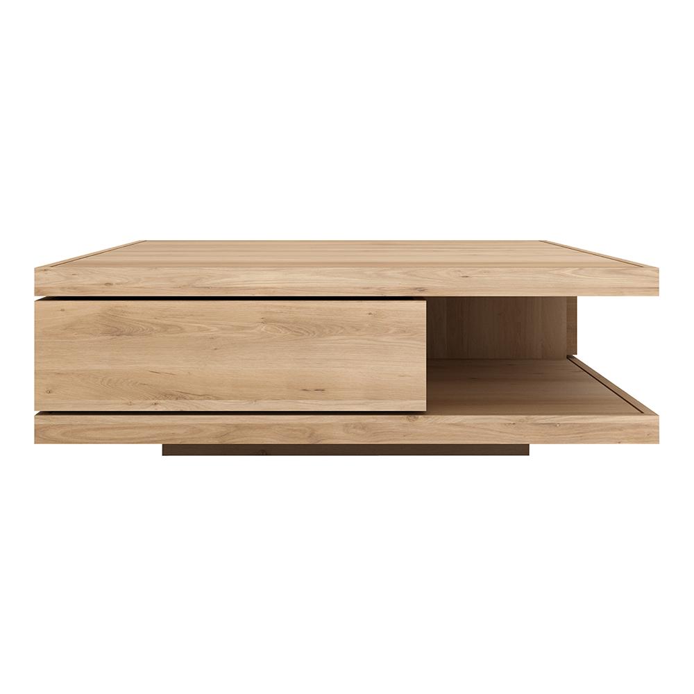 Flat Coffee Table Square Oak