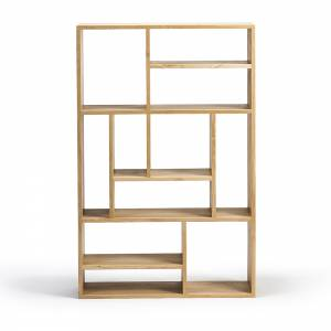 Oak M rack small - open
