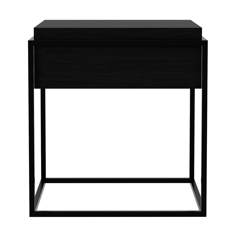 Monolit Side Table Small Black Oak Black Rouse Home
