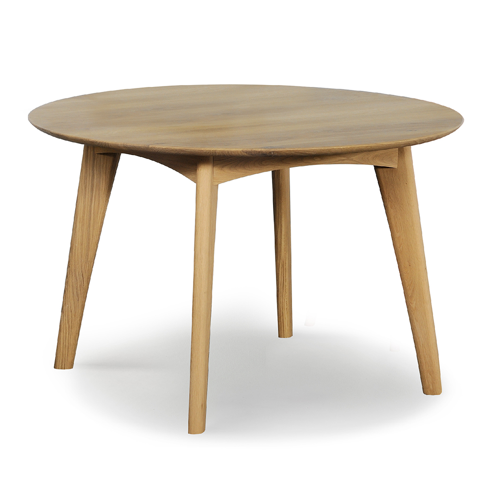 Osso Round Dining Table Oak