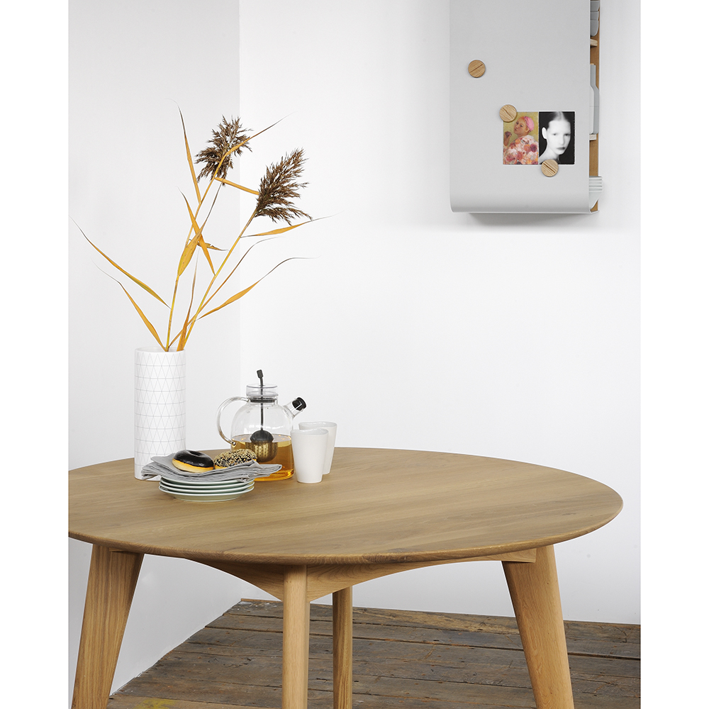 Osso Round Dining Table Oak Rouse Home