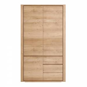 Oak Shadow dresser - 3 doors - 2 drawers